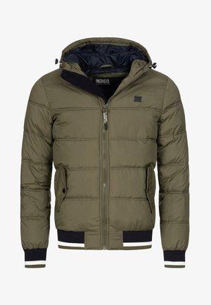 REGULAR  FIT - Winter jacket - dark green