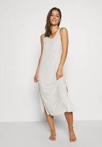 Marks & Spencer London - NIGHTDRESS - Nattskjorte - oatmeal - 0