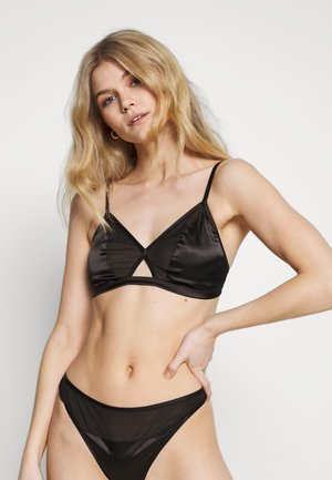 BLUSH DETAIL  BRA - Triangel-bh - black