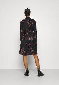 Vero Moda - VMGALLIE DRESS - Shirt dress - black - 2