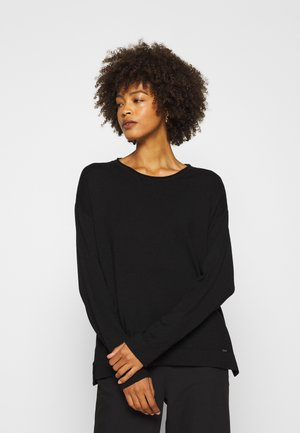 1/1 SLEEVE - Strickpullover - black