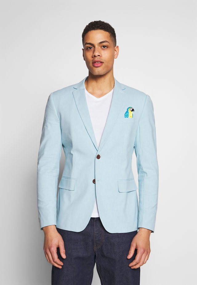 BIRDIE - Blazer jacket - soft blue