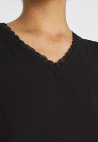 Vero Moda - VMNADS TRAPEZ SLEEVE - Print T-shirt - black - 4