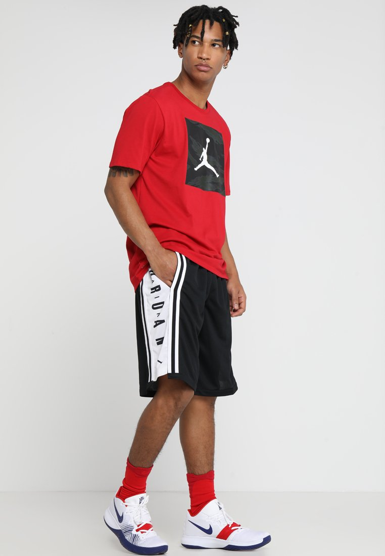 Jordan - BASKETBALL SHORT - kurze Sporthose - black/white/black