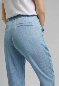 Esprit - Pantalon classique - blue bleached - 4