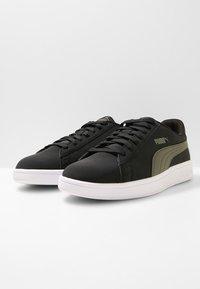 Puma - SMASH  UNISEX - Sneakers - puma black/forest night - 2