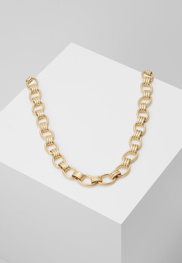 PCBIZZY NECKLACE - Necklace - gold-coloured