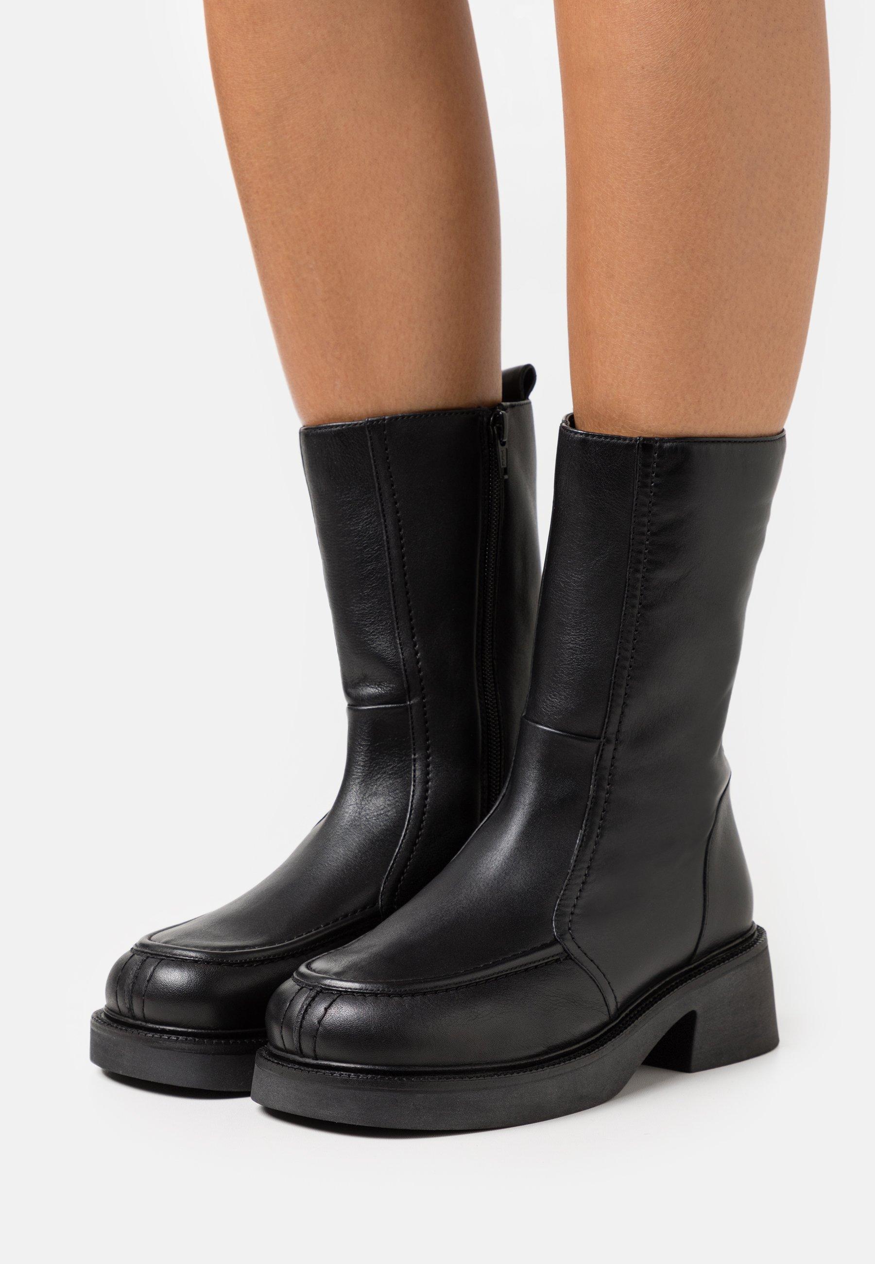 Women ARIES CHUNKY FLAT BOOT - Platform boots