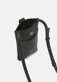 Liebeskind Berlin - MOBILE POUCH - Across body bag - black - 2
