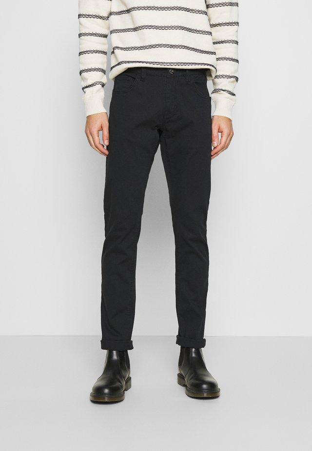 ALLAN - Trousers - black