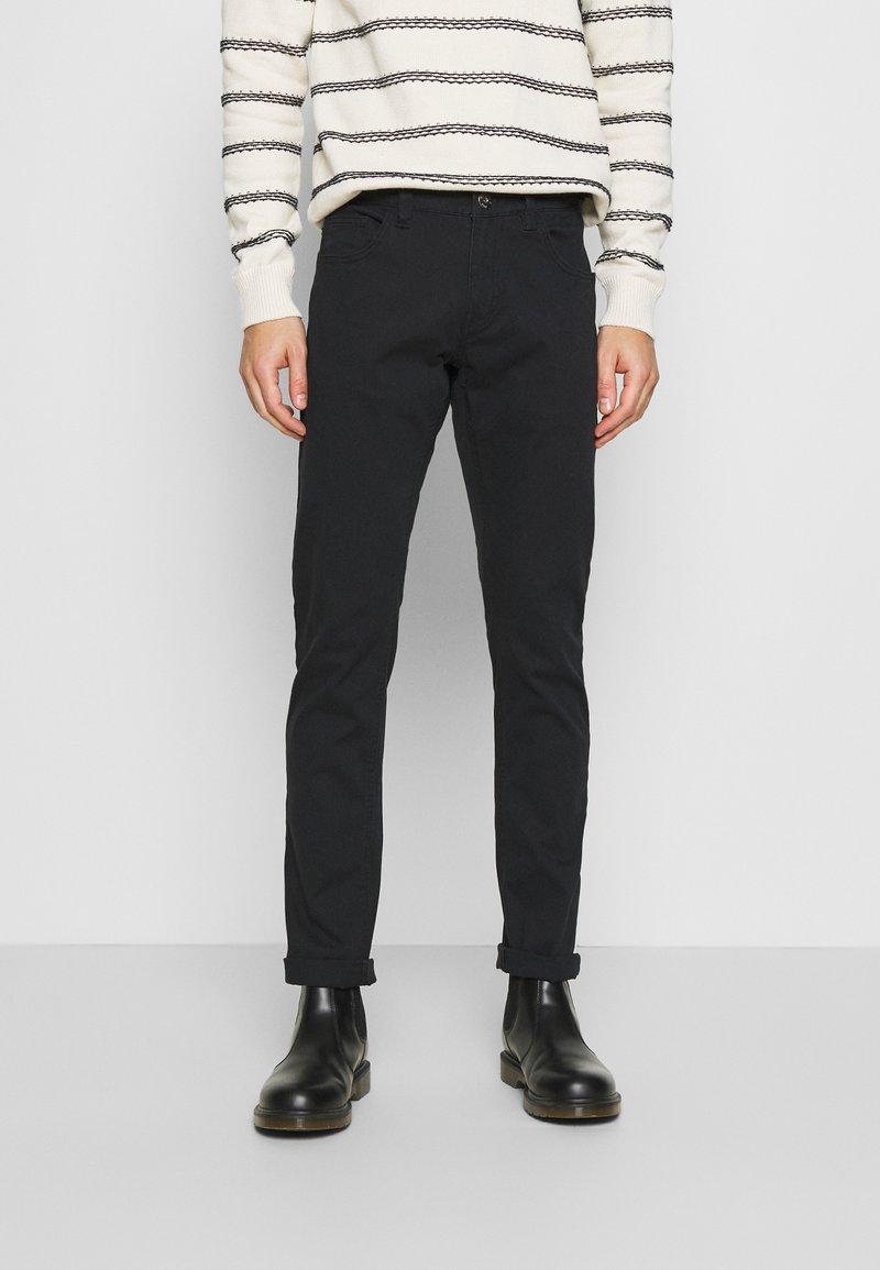 INDICODE JEANS - ALLAN - Trousers - black