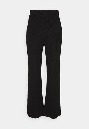 CLARA TOUSERS - Pantaloni - black dark