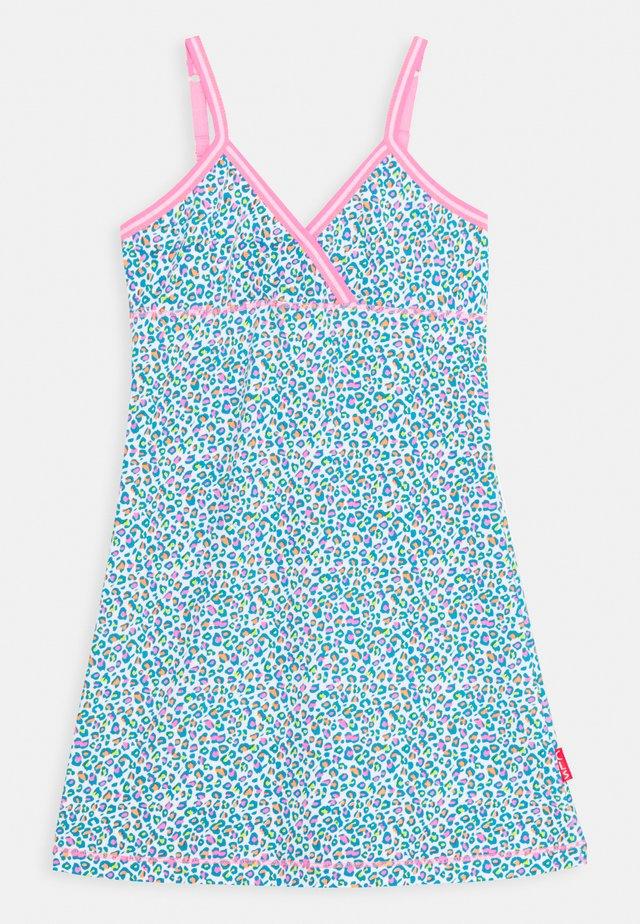 GIRLS DRESS HEARTS - Yöpaita - blue
