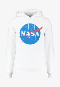 NASA HOODY - Hoodie - white
