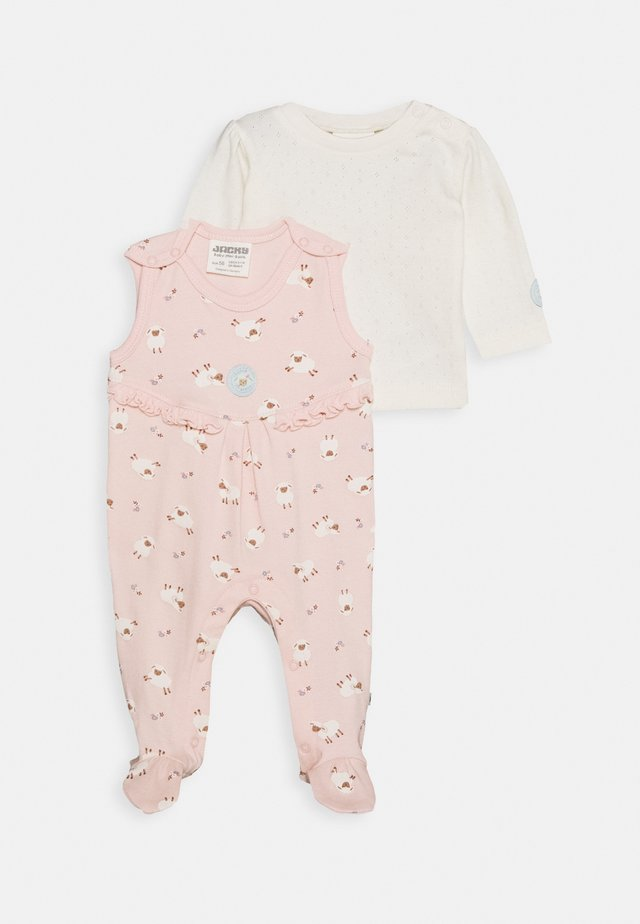 STRAMPLER FLUFFY & LOVELY SET - Jumpsuit - off-white