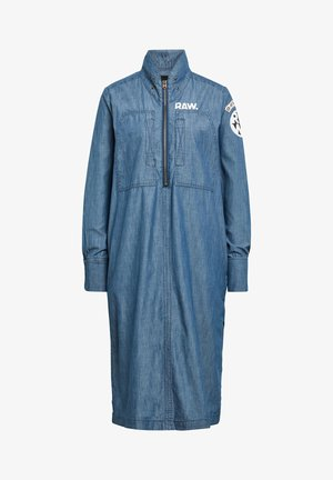 NAVAL ANORAK LONG SLEEVE - Day dress - rinsed