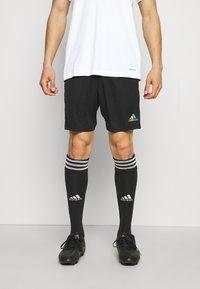 adidas Performance - TIRO PRIDE - Pantaloncini sportivi - black - 0