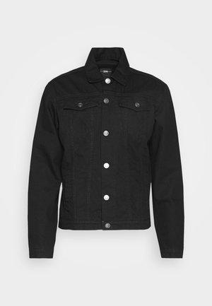 JACKET - Denim jacket - black