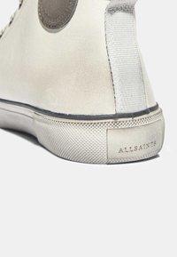 AllSaints - OSUN LEATHER HIGH TOP CHALK WHITE - Trainers - chalk white - 4