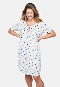 Ulla Popken - 2 PACK - Pyjama top - zwart - 2