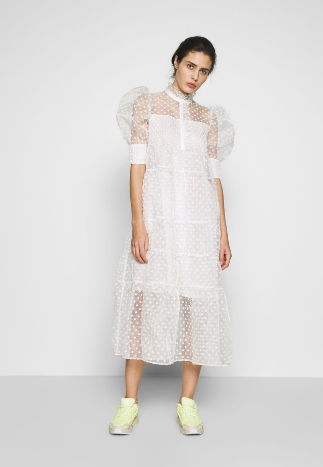 RIO DRESS - Abito a camicia - white
