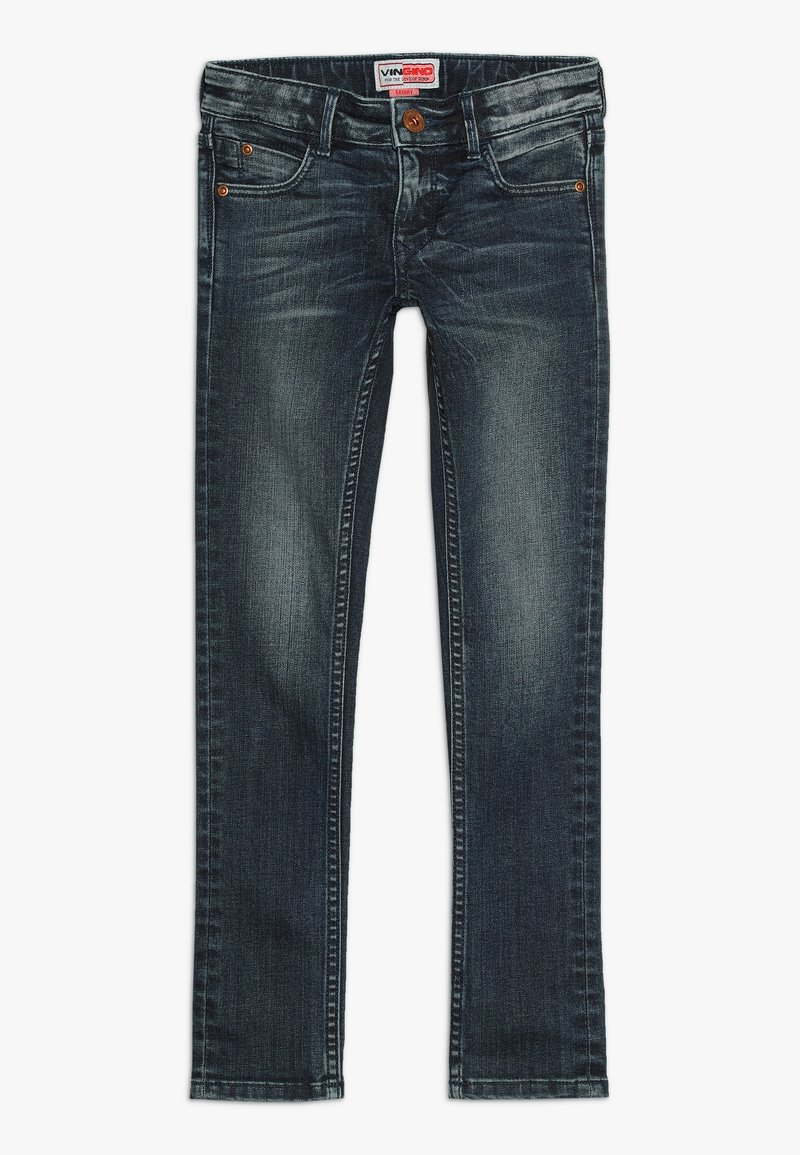 Vingino - ABELIA - Jeans Skinny Fit - dark used