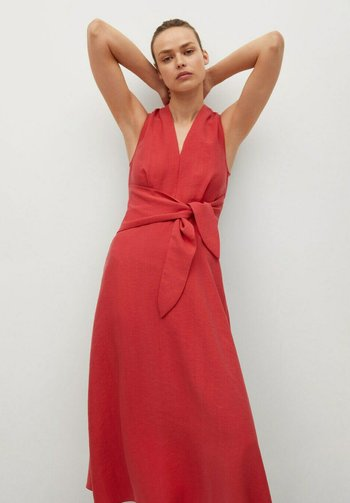 NALA - Maxi dress - rojo coral