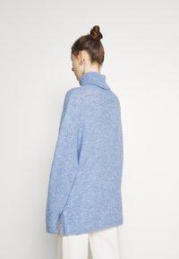 Even&Odd - Jumper - mottled light blue - 2