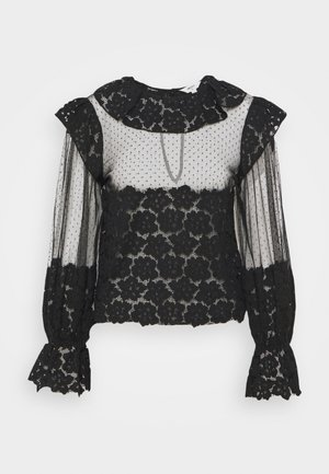 OBJBERETTA  - Blouse - black