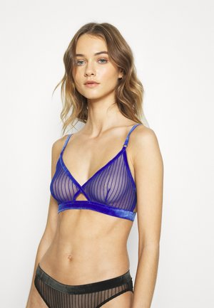 POLLY SOFT BRA - Triangle bra - bright blue