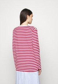 Marimekko - PITKÄHIHA  - Long sleeved top - white/red - 2