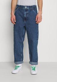 BDG Urban Outfitters - CARPENTER - Straight leg -farkut - dark vintage - 0