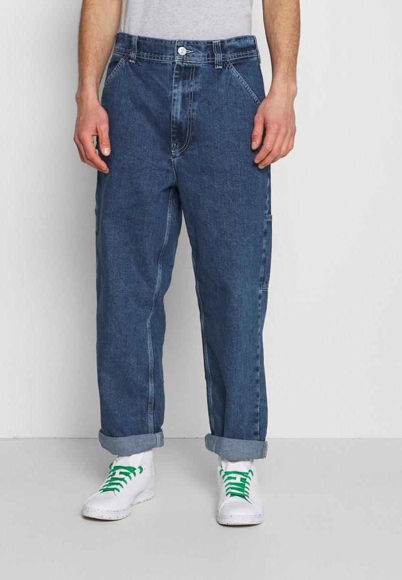 BDG Urban Outfitters - CARPENTER - Straight leg -farkut - dark vintage