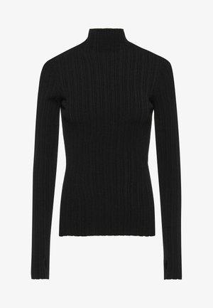 SAFWANA - Long sleeved top - black