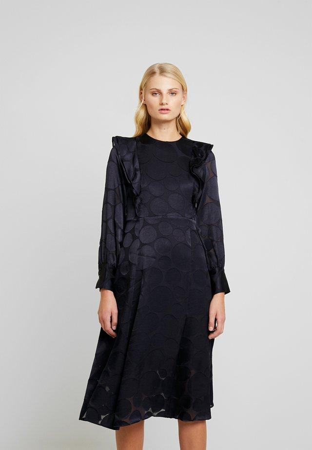 VALANCE DRESS MIDI - Robe d'été - navy blue