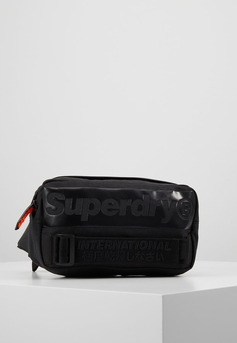 Superdry - INTERNATIONAL BUM BAG - Bum bag - black