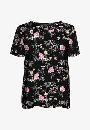 T-shirt med print - black 2