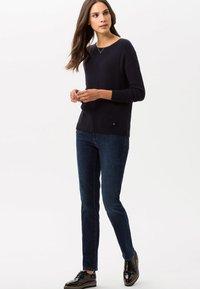 BRAX - CAROLA - Slim fit jeans - blue - 0