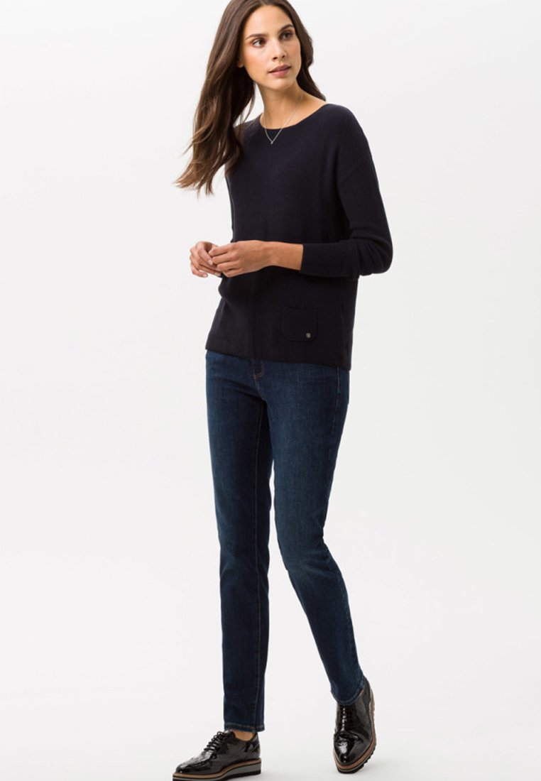 BRAX - CAROLA - Slim fit jeans - blue