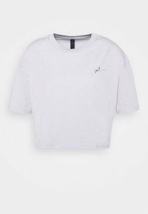 RELAXED ACTIVE - Print T-shirt - grey marle/balance