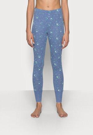 POINTELLE - Pyjama bottoms - blue