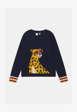 CHEETAH - Strickpullover - navy uniform