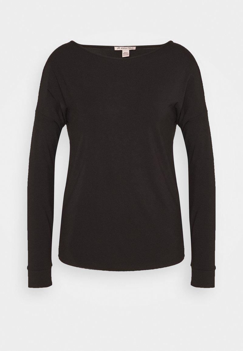 Anna Field - Langærmede T-shirts - black