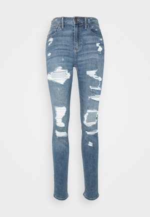 CURVY SHRED - Jeans Skinny - medium destroy
