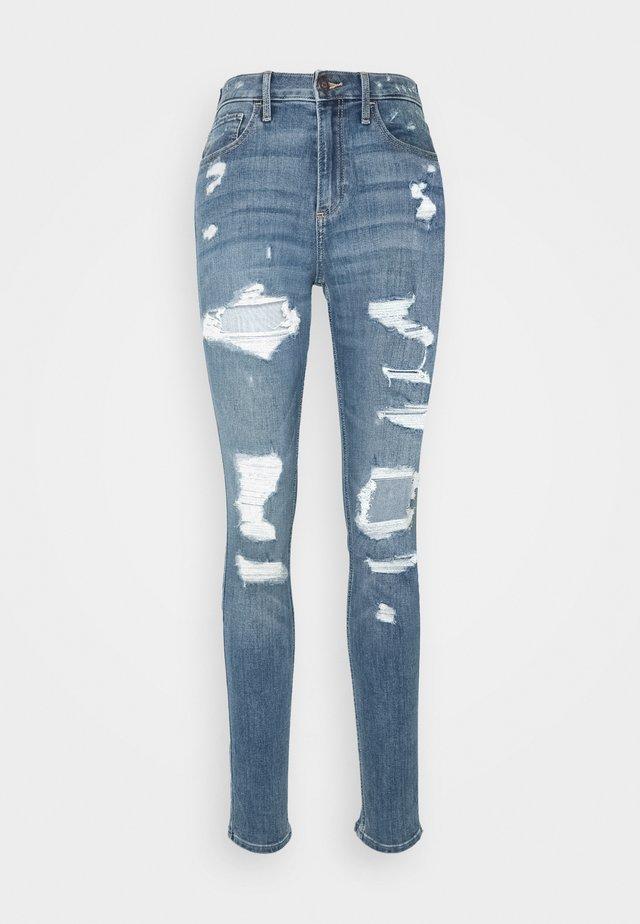 CURVY SHRED - Jeans Skinny Fit - medium destroy