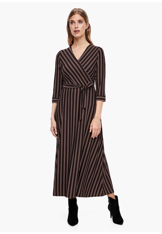 Maxi-jurk - brown stripes