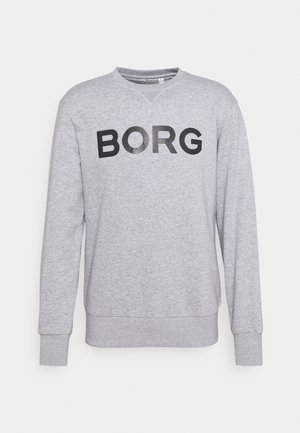 LOGO CREW - Sweatshirt -  light grey melange