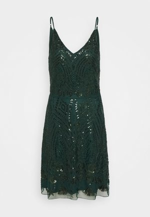 LADIES DRESS - Vestido de cóctel - dark green