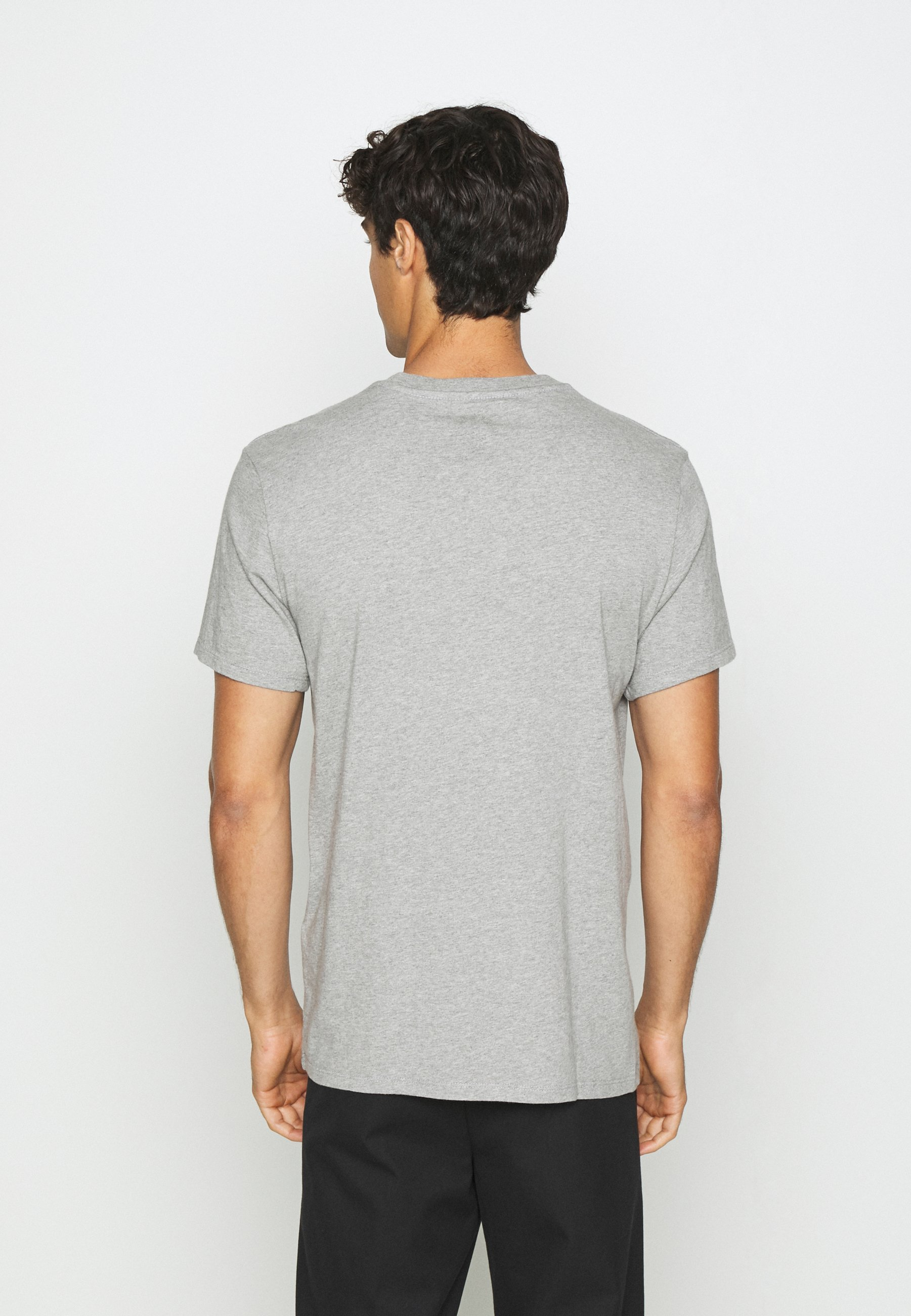 DOCKERS PACIFIC CREW TEE - Basic T-shirt - heather grey cwubj