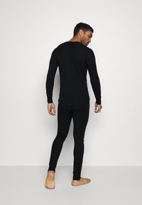 ODLO - LONG ACTIVE WARM SET - Dlouhé spodní prádlo - black - 2